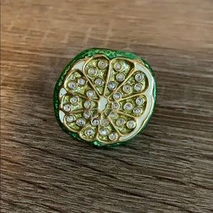 Kate Spade Lime Ring